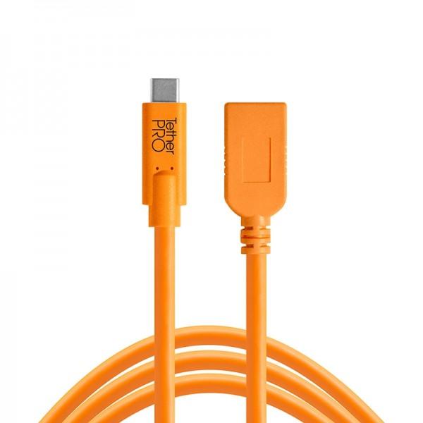 Tether Tools Pro USB-C zu USB 3.0 Adapter-/Verlängerungskabel - 4,9 Meter Kabel